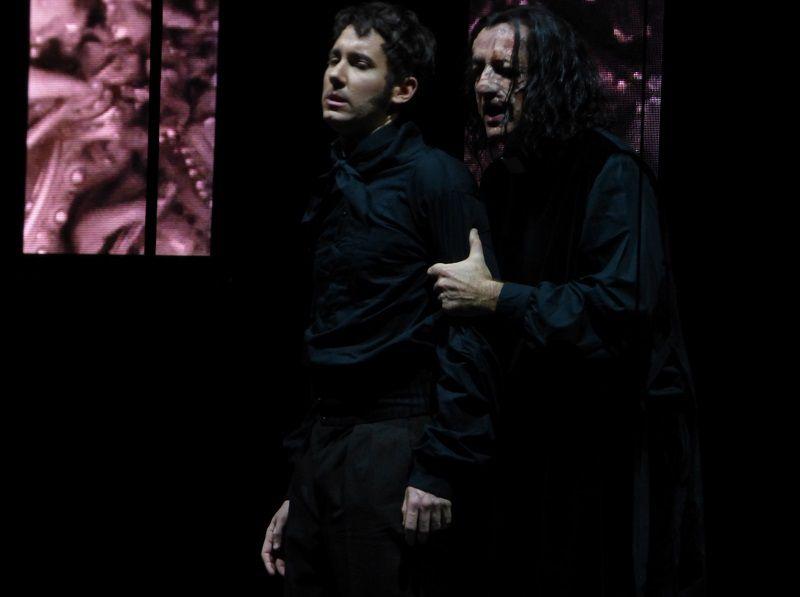 Cyrille Dubois (Lucien) et Laurent Naouri (Trompe-La-Mort)