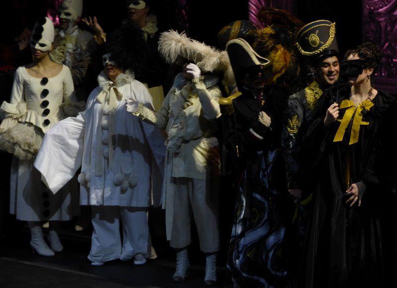 Trompe-La-Mort : scène de bal