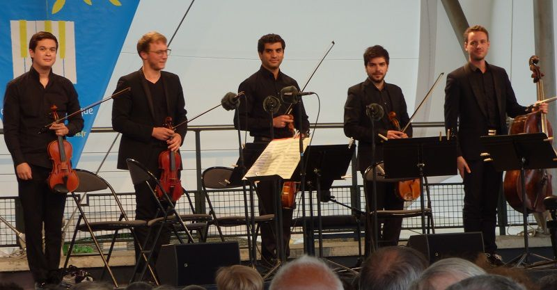 Nicolas Van Kuijk, Sylvain Favre, Emmanuel François, Grégoire Vecchioni, François Robin