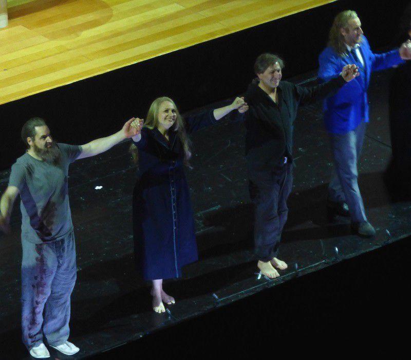 Peter mattei, Anja Kampe, Andreas Schager et Günther Groissböck - le 16 mai 2018