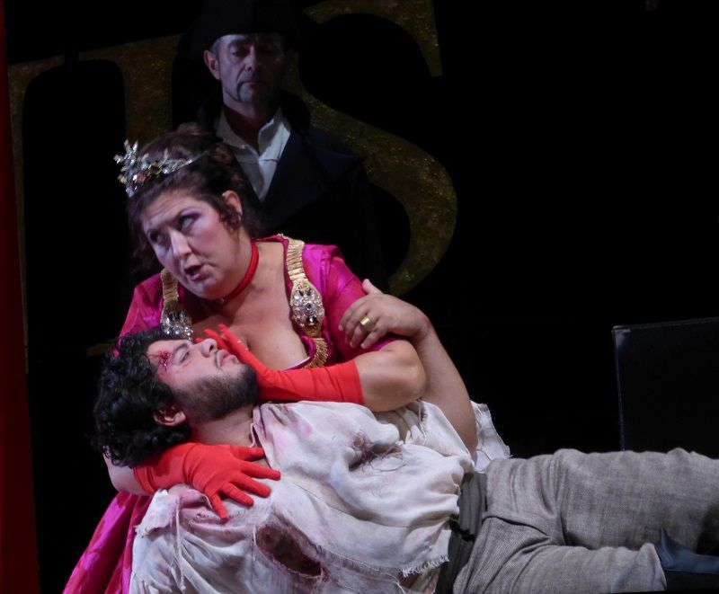 Anna Pirozzi (Floria Tosca) et Azer Zada (Mario Cavaradossi)