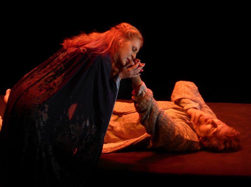 Martina Serafin (Isolde) et Andreas Schager (Tristan)