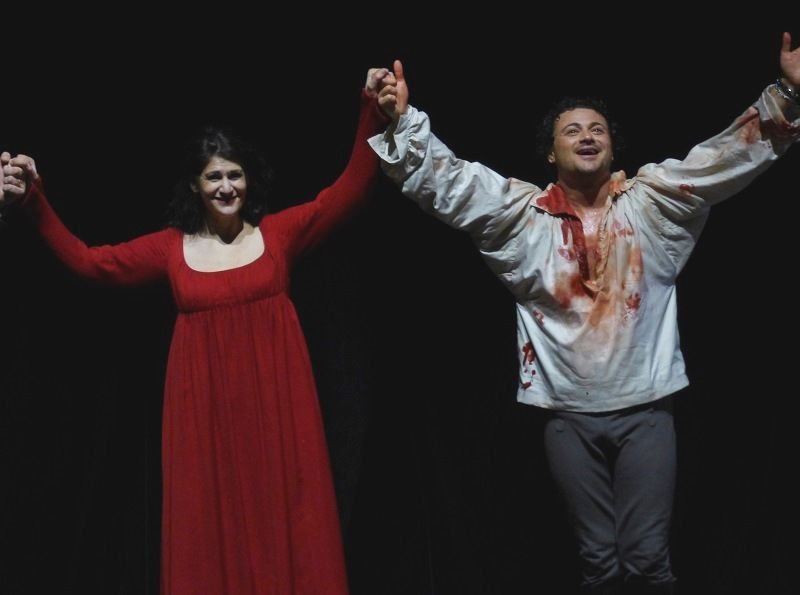 Anja Harteros et Vittorio Grigolo