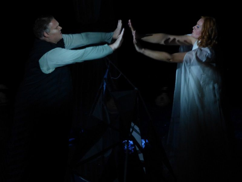 Bryan Register (Tristan)  et Ann Petersen (Isolde)