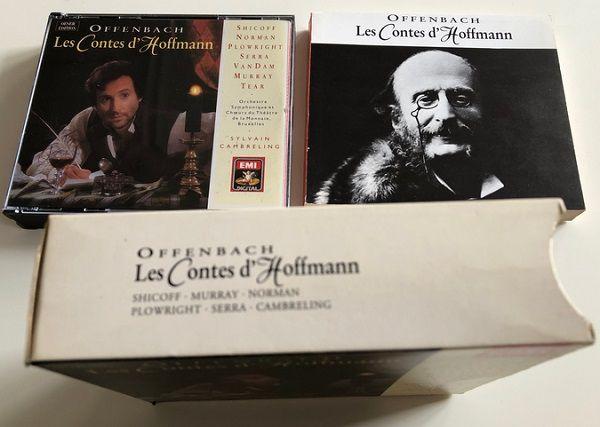 Les Contes d'Hoffmann - direction Sylvain Cambreling - Version Oeser
