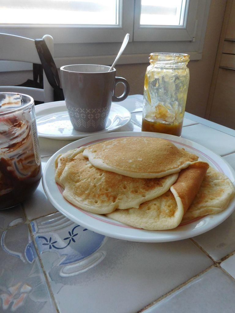 Hmmm... des pancakes...