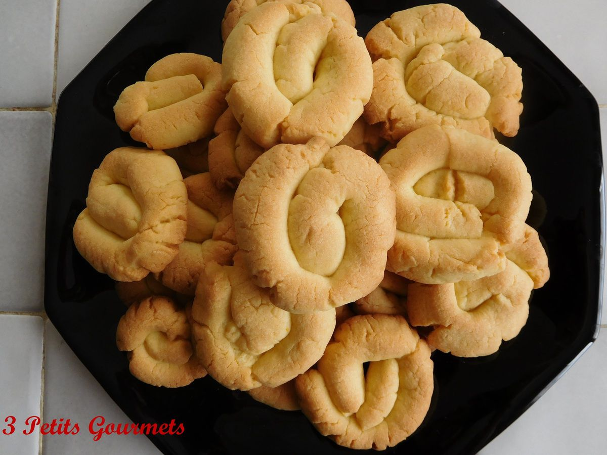 Marañuelas.Des biscuits croquants d'origine espagnole.