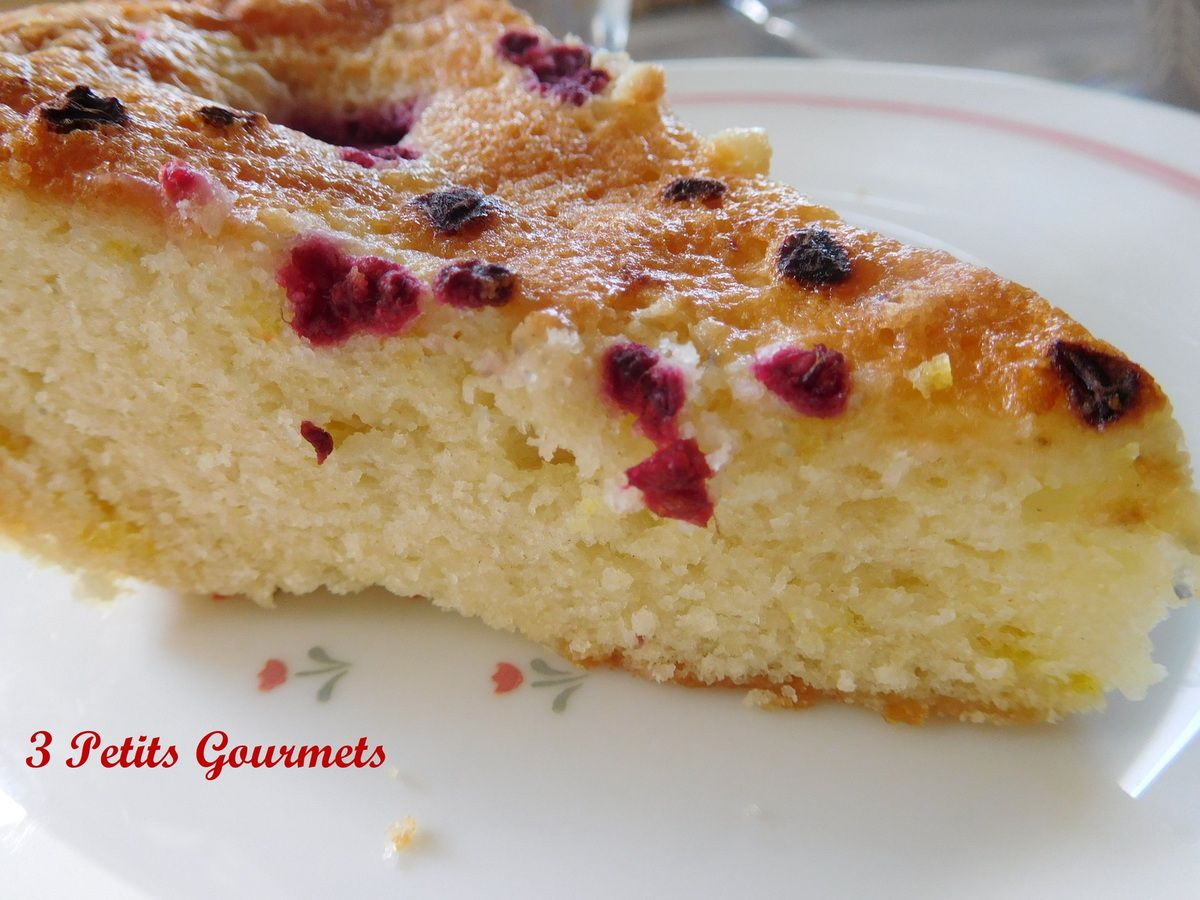 Le gâteau Germaine : Mousseux et léger à souhait