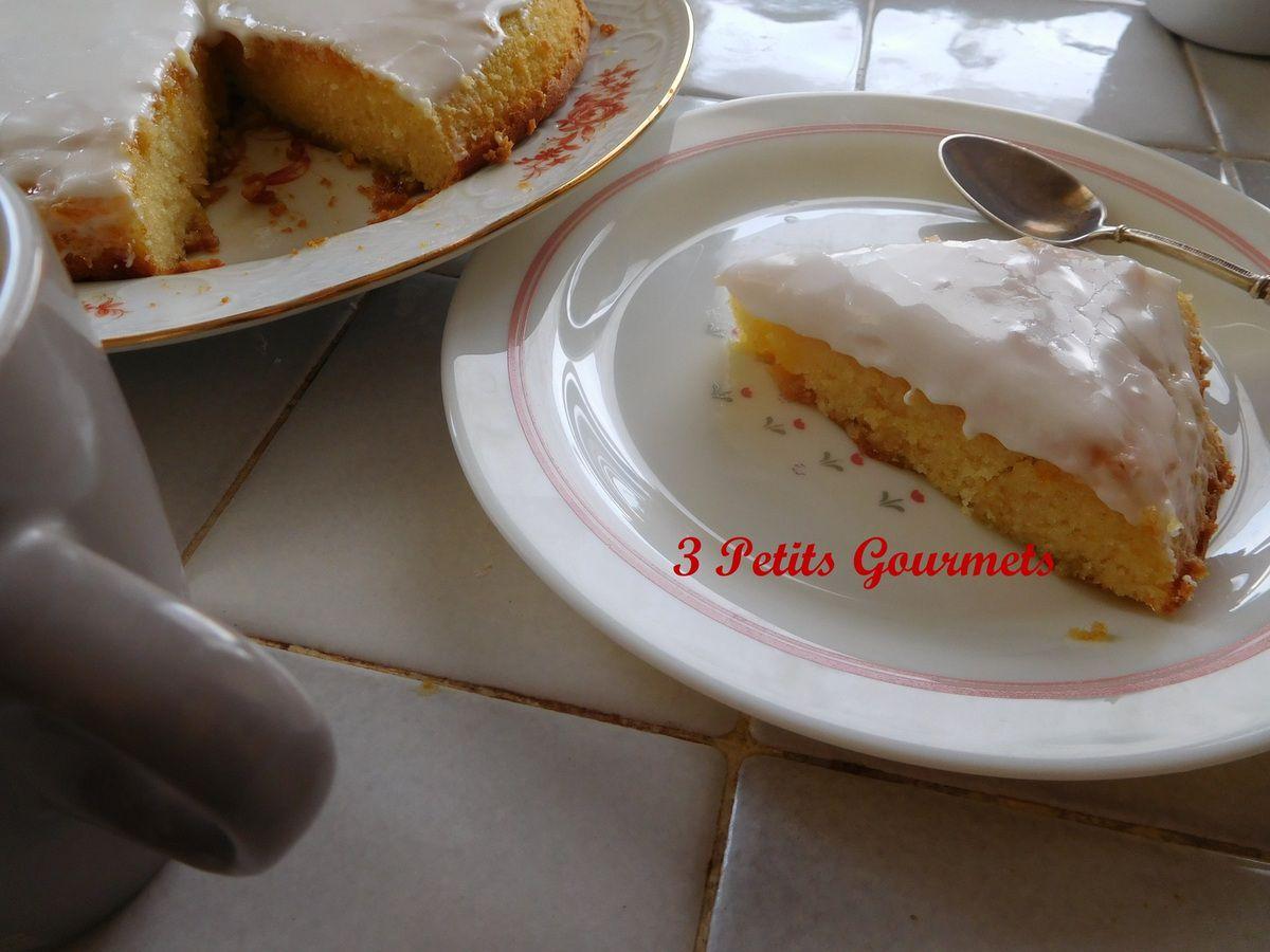 Le Voyageur : un gâteau moelleux à l'abricot