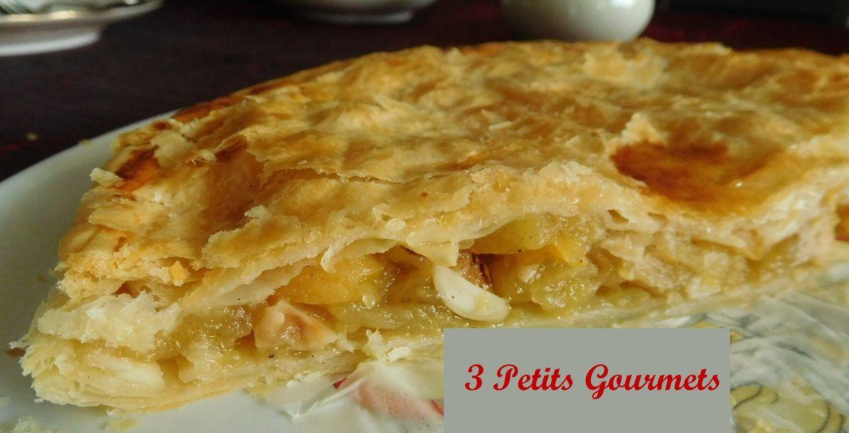 Des pommes fondantes, mais pas que, pour une galette légère.