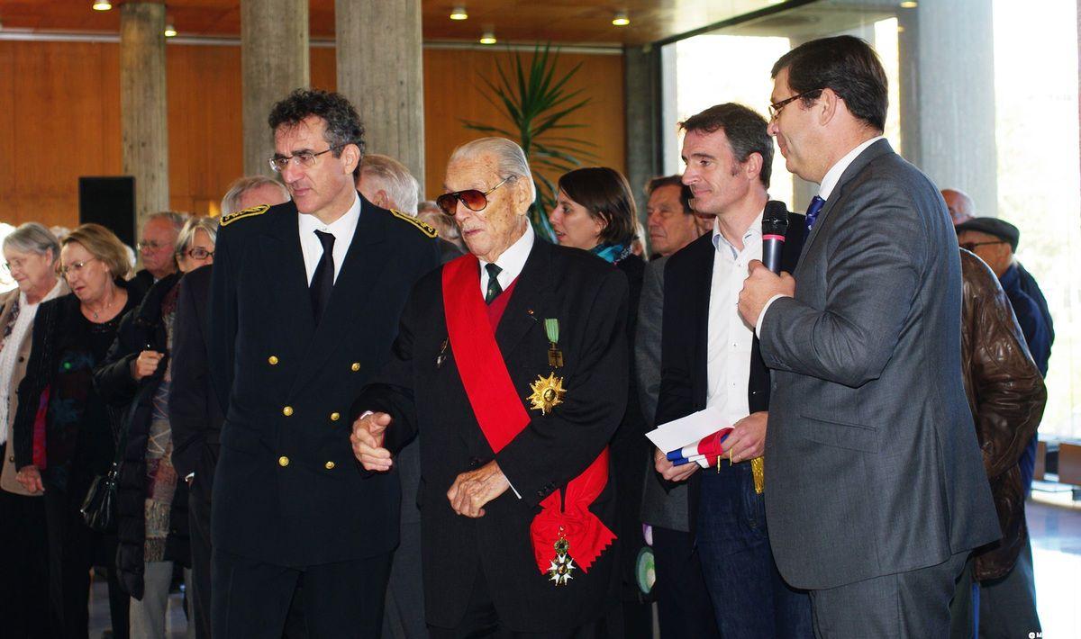 Cérémonie de commémoration du 05-11 à Grenoble