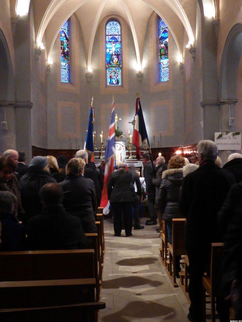 Messe de funérailles pour notre camarade Gérard FONTANEL
