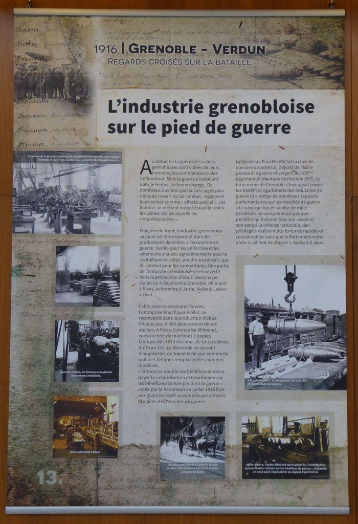 1916 : Grenoble-Verdun , Regards croisés sur la bataille