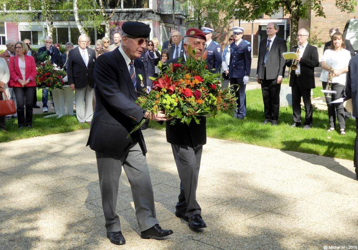 Célébration  du 8 mai 1945 à Meylan