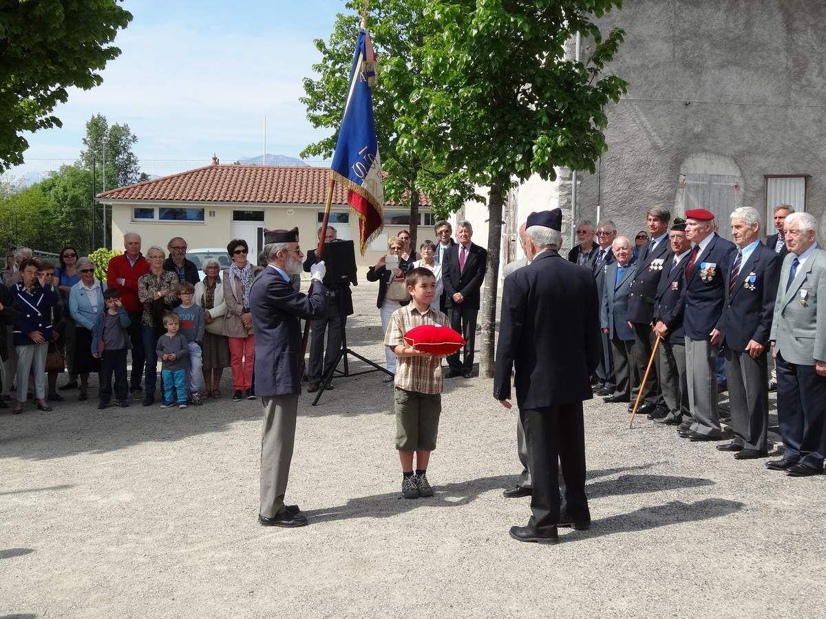 Célébration du 8 mai 1945 à Biviers , plus de photos