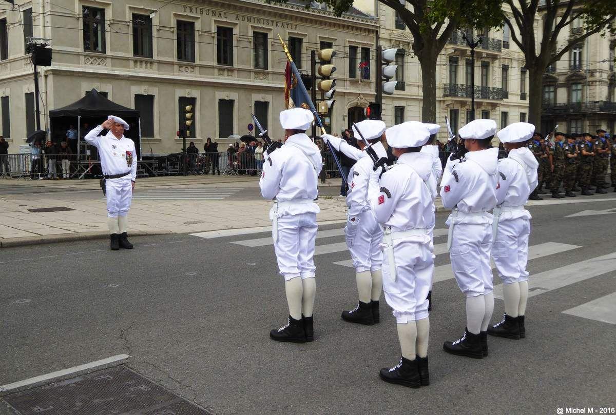 Cérémonie & Défilé du 14 juillet à Grenoble