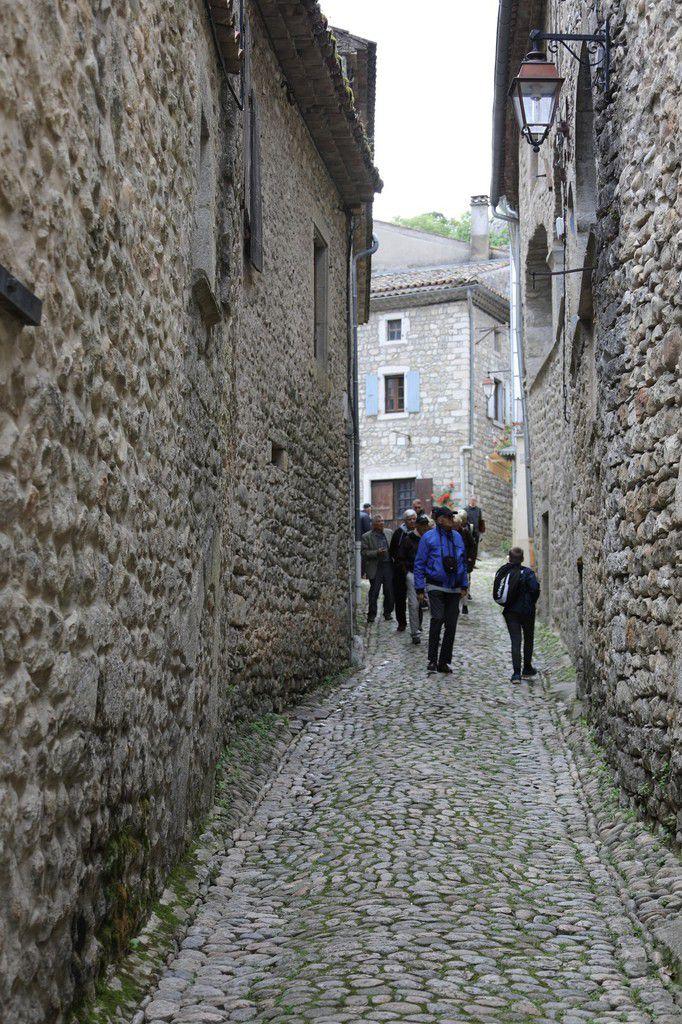 """Visite de la grotte """"Chauvet"""" - Vallon Pont d'Arc - 14 mai 2018"""