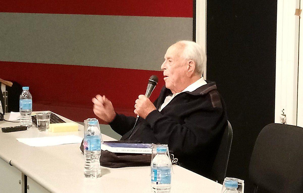 17.05.2018 Conférence Témoignage Pierre MONTAZ au Lycée du Grésivaudan