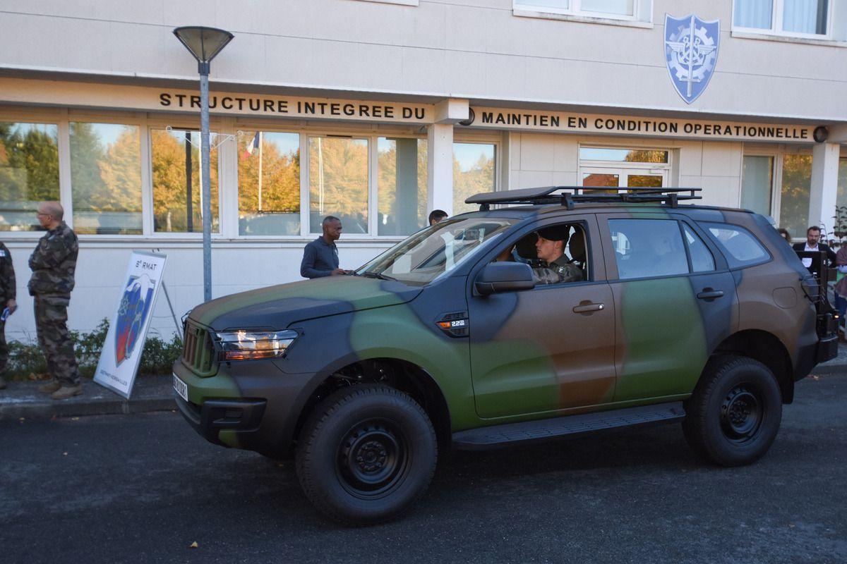 Première livraison du véhicule tactique 4x4 dans l'armée de Terre