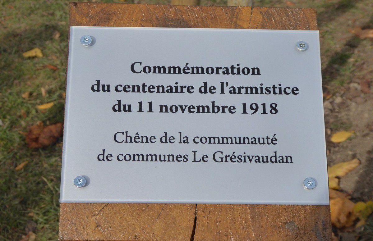 """""""Plantation"""" de l'Arbre du centenaire à Biviers"""