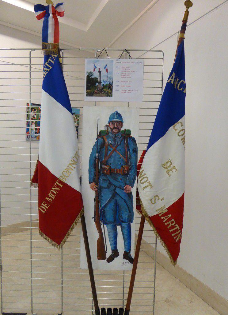 1918 l'année de la Victoire, exposition à Montbonnot St Martin
