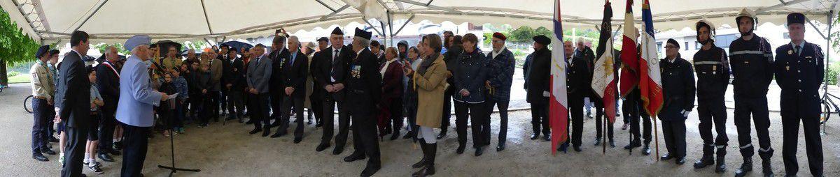 Commémoration du 8 mai 1945 (2019) à Biviers