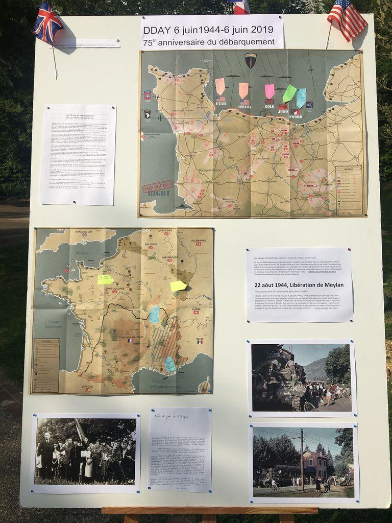 Meylan: Cérémonie commemorative du débarquement allié le 6 juin 1944
