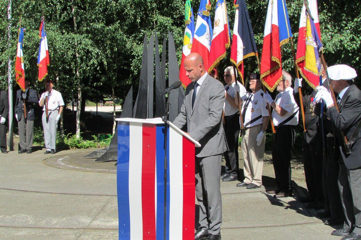 Grenoble, commémoration dédiée aux combats d'Indochine