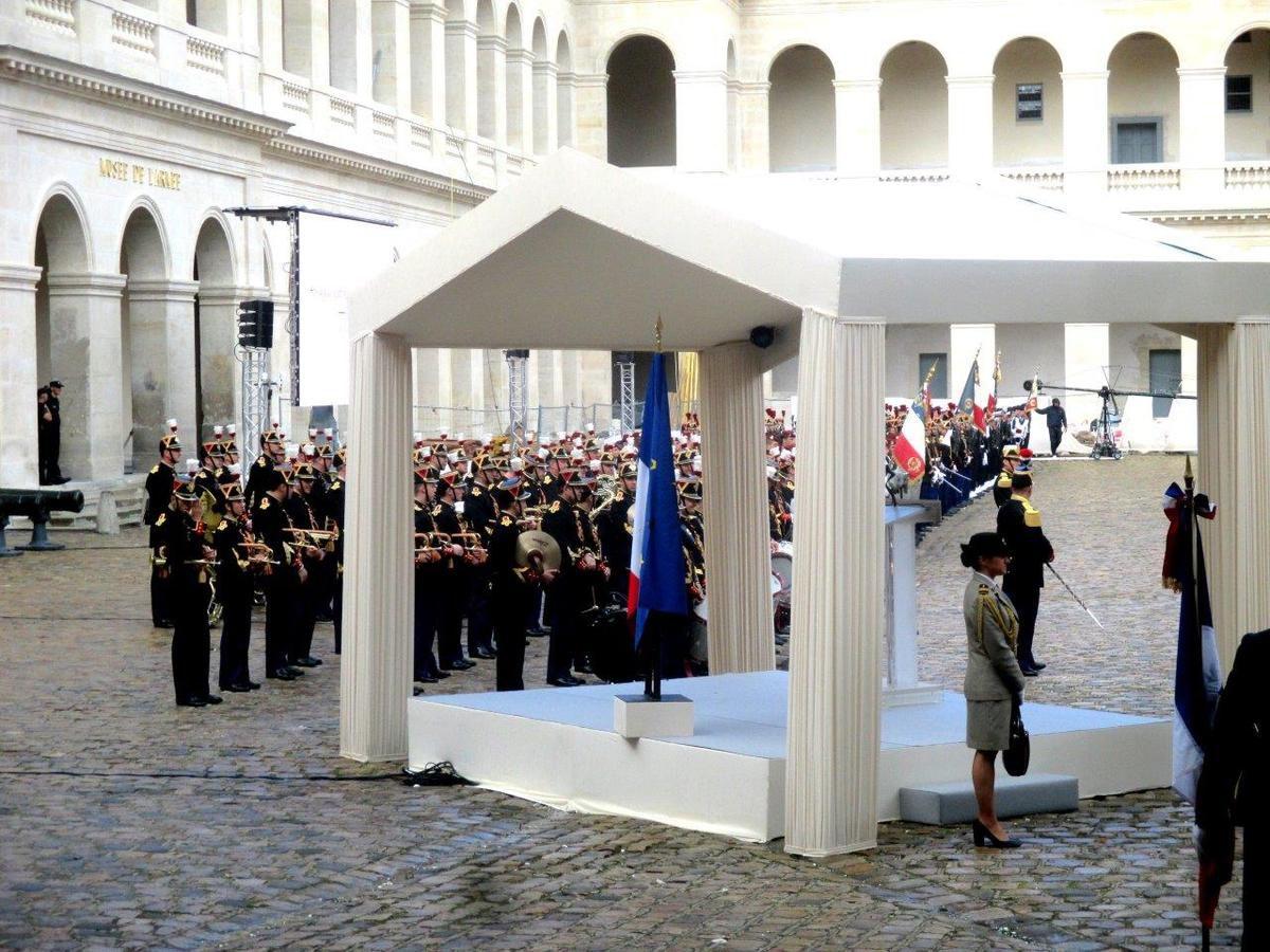 Paris, Invalides: commémoration dédiée aux combats d'Indochine