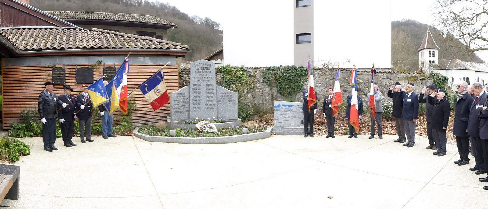 Assemblée Générale de l'UNC Belledonne-Vercors à Gières