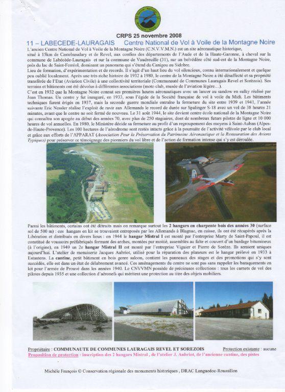 Projet de centrale photovoltaïque sur l'aérodrome de la Montagne Noire