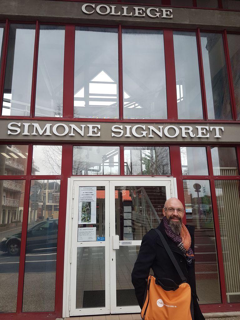 Vos équipes sur le terrain en proximité des agents du collège Simone Signoret de Bruay cet après-midi!!!