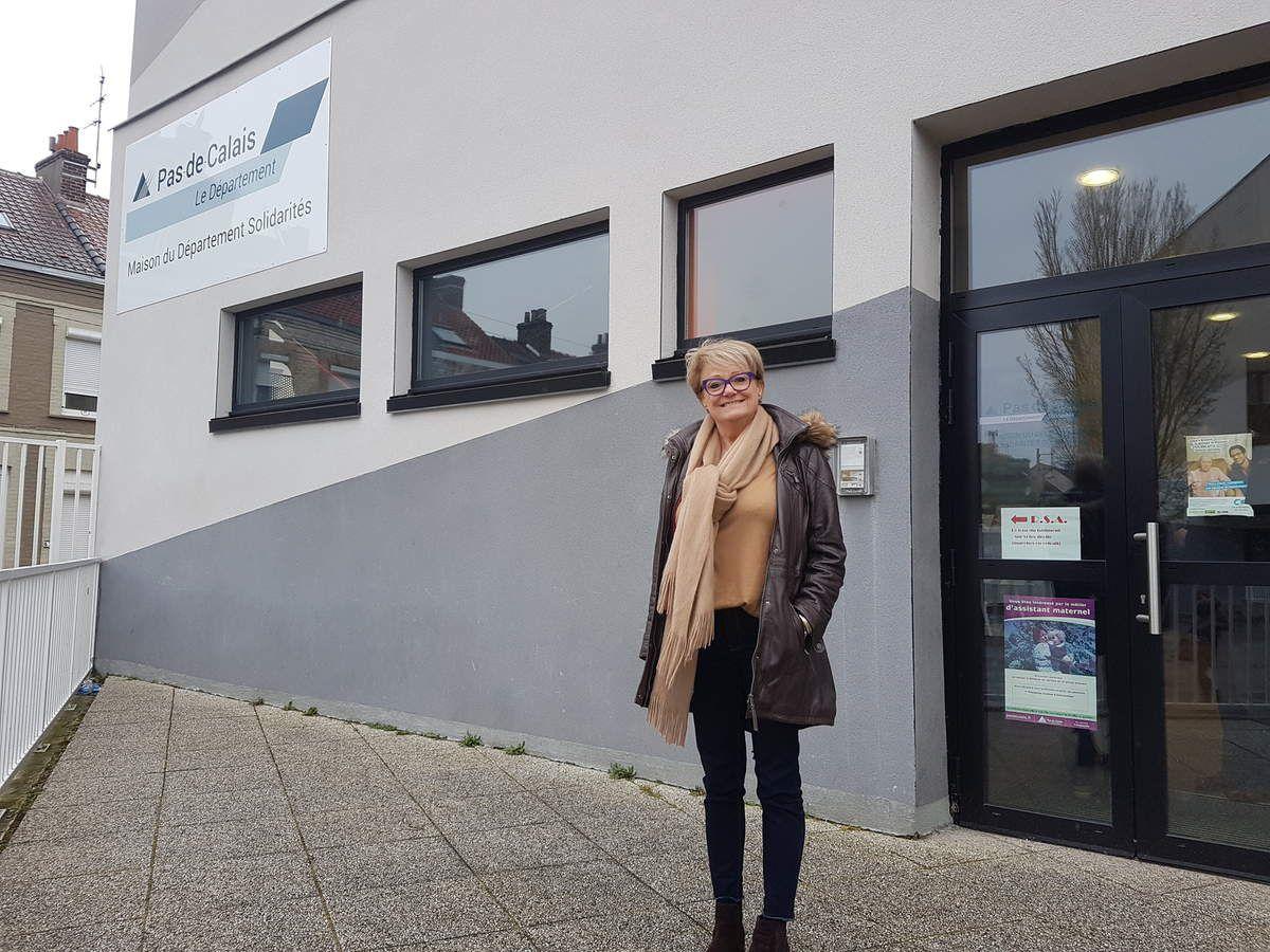 Vos élus CFDT au CHSCT Départemental visitent les locaux de la MDS et du CER de Calais