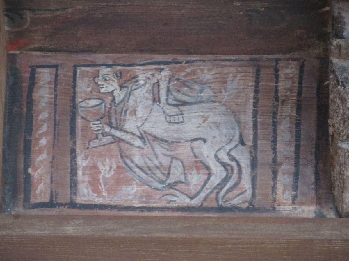 Monstres, humains et animaux dans l'imagier de Fréjus