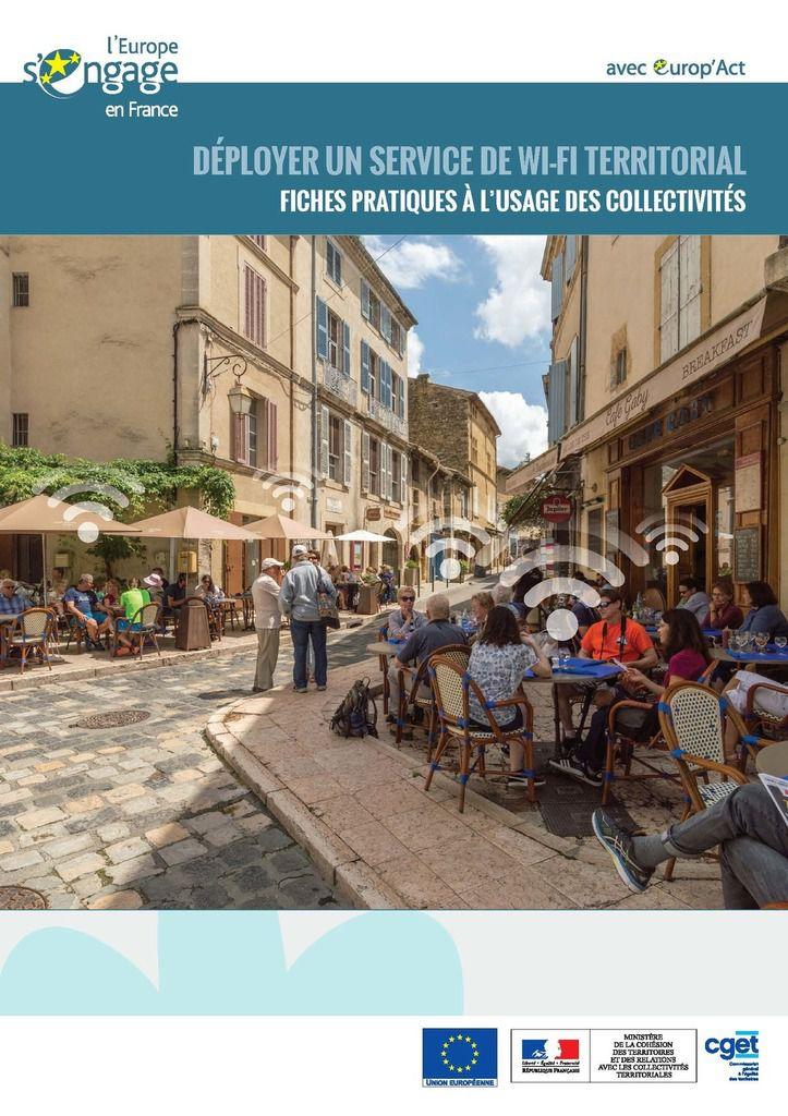 Lancement du guide pratique « Déployer un service de Wi-Fi territorial ».