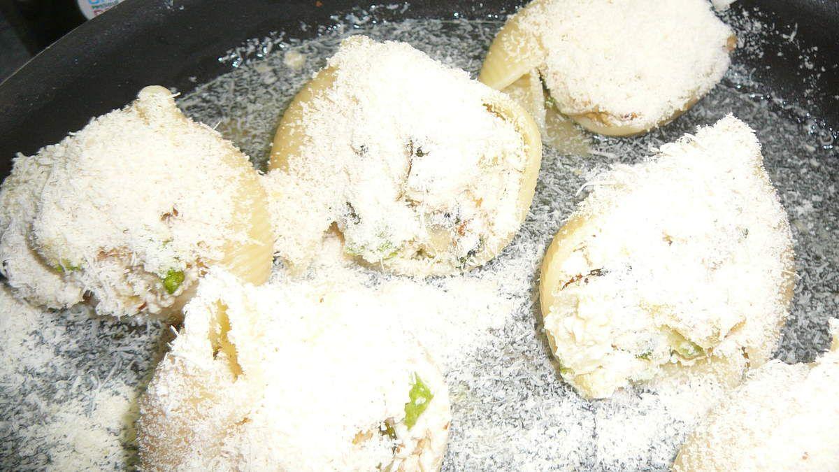 Grosses Pâtes  farcies: Lumaconi giganti  farcies