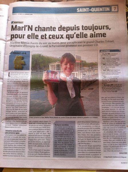 L'article du courrier picard!