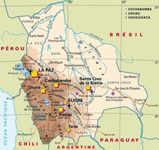 Notre circuit en Bolivie