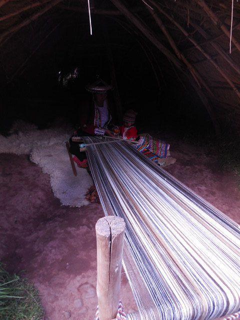le musée de la tapisserie à Urubamba