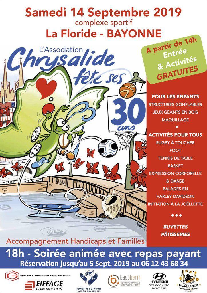 30 ans de Chrysalide