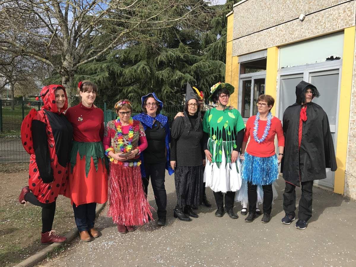 Ecole Maternelle Les Ralluères : c'est le Carnaval !