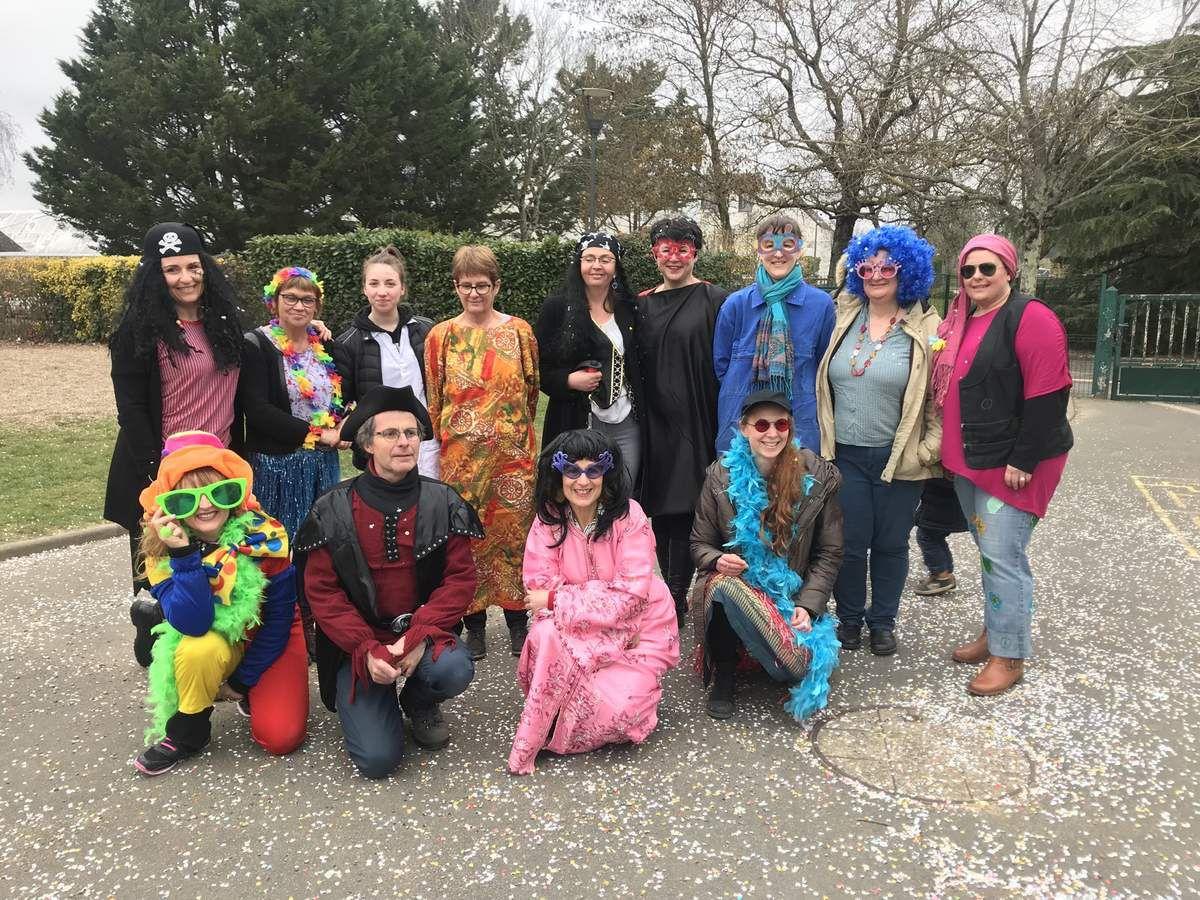 Carnaval à l'école maternelle Les Ralluères