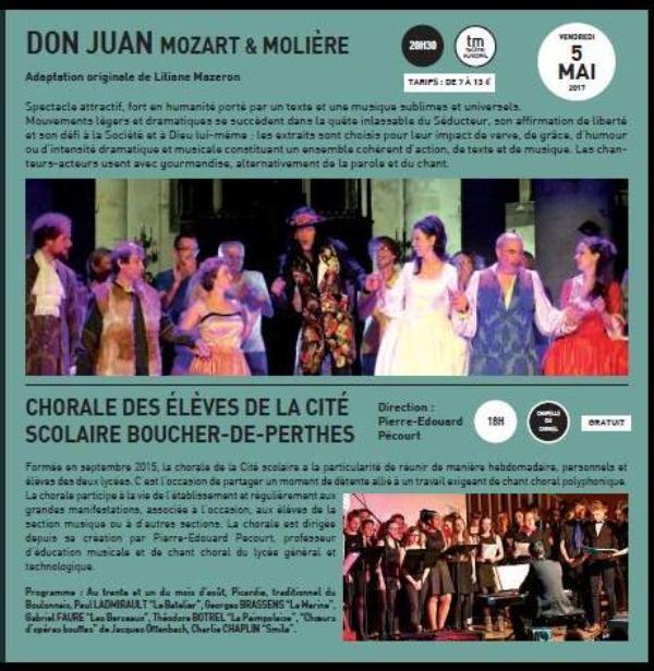 CHOEURS  ET  VOIX  D'ABBEVILLE..   EN FESTIVAL...du 3 AU 6 MAI 2017.
