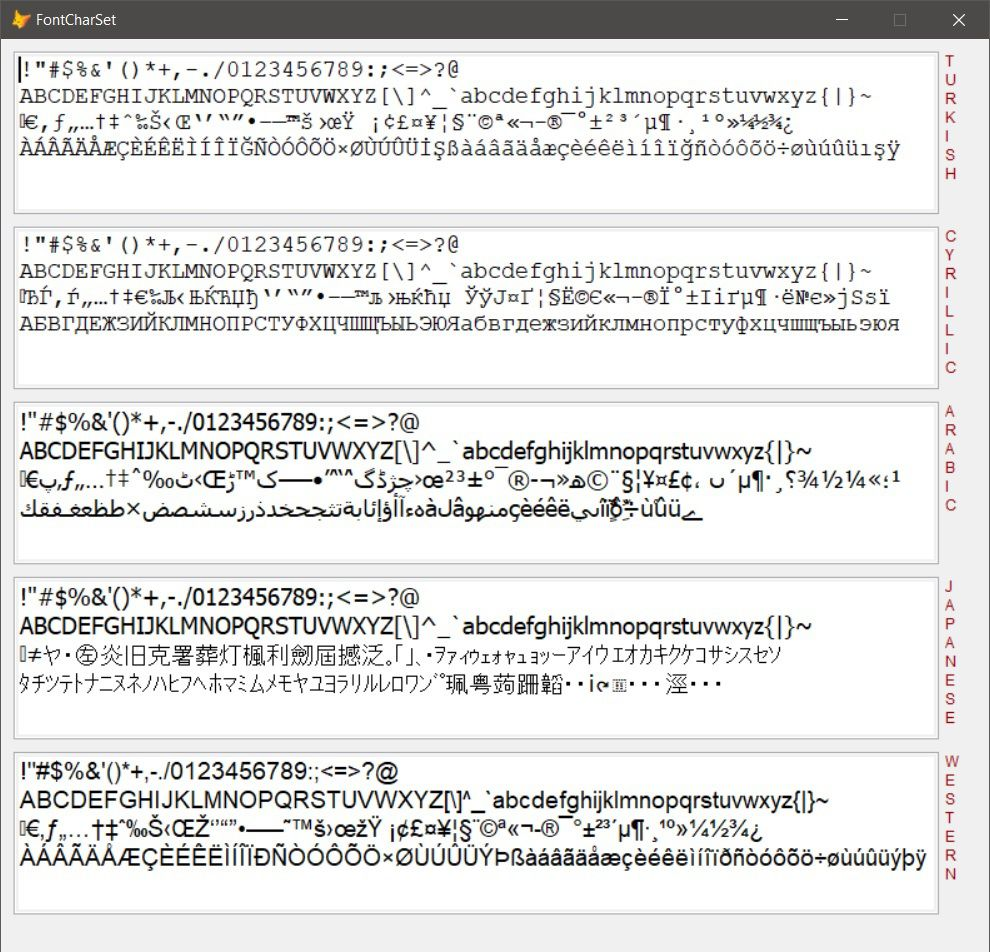 Unicode texts and vfp -continuation-
