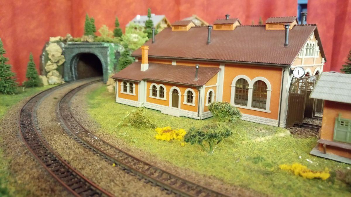 Hangar pour loco vapeur sur réseau n du club Noeud ferroviaire-03