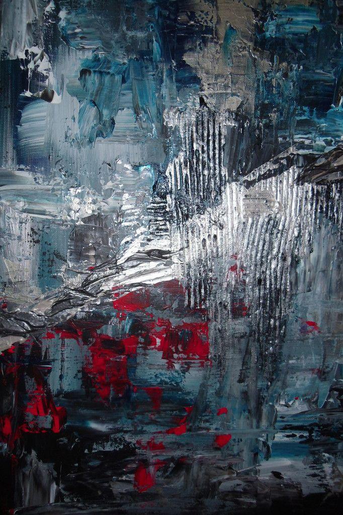 """Tableau abstrait """"Le Passage"""""""