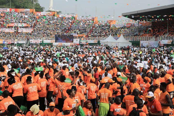 Côte d'Ivoire: le RHDP au pouvoir tient son premier congrès