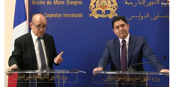 Maroc : Jean Yves Le Drian en visite pour le renforcement des relations bilatérales