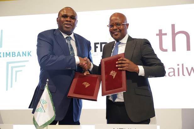 Développement des chemins de fer en Afrique :Afreximbank et Thelo DB signent un protocole d'accord