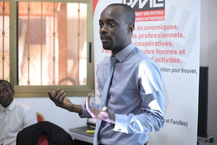 Me Ekou Paul Arnaud, vice président du Mouvement des petites et moyennes entreprises de Côte d'Ivoire (Mpme)